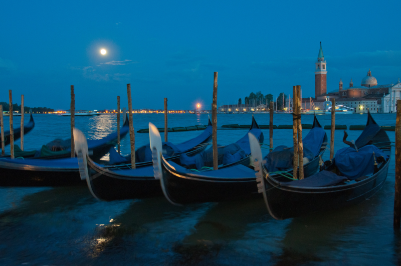The Flower Moon Rising in Venice © 2012 Claudia Ward
