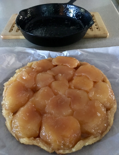 Apple Tarte Tatin © 2016 Claudia Ward