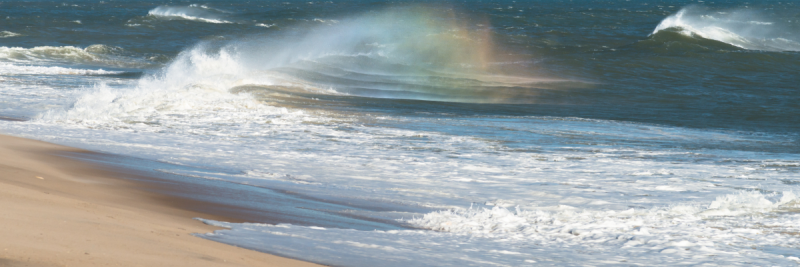 Rainbow Spectrum from a Wave © 2016 Claudia Ward