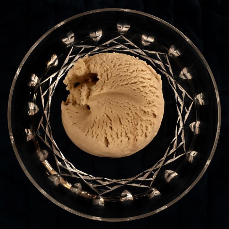 Homemade Bourbon Ice Cream © 2016 Claudia Ward