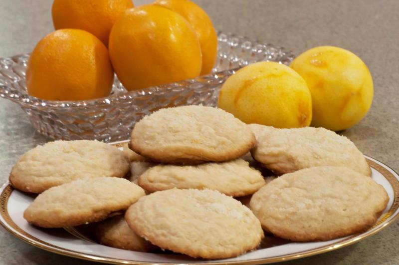 Meyer_Lemon_Cookies © 2012 Claudia Ward