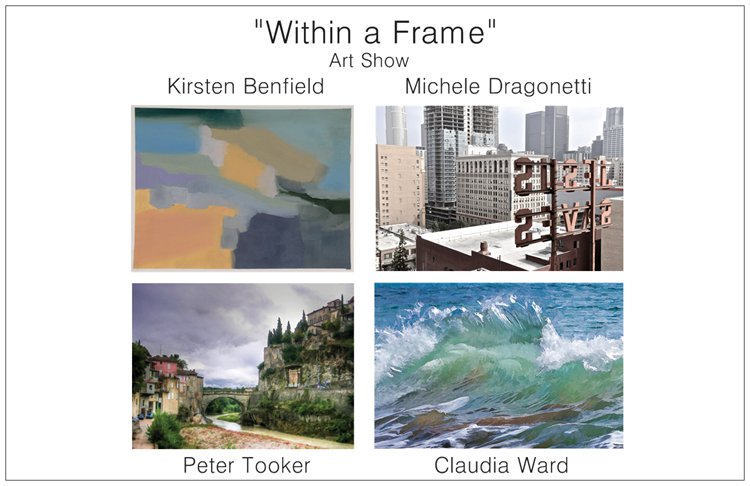 Within a frame front
