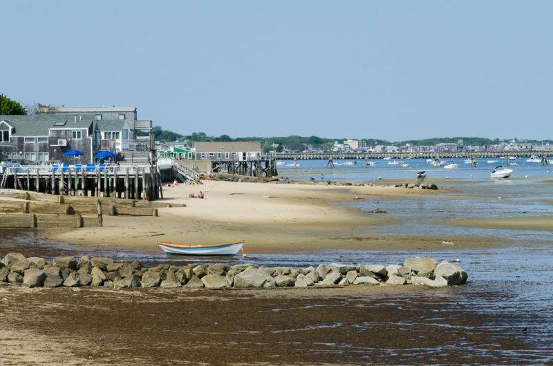 Provincetown Harbor at Low Tide