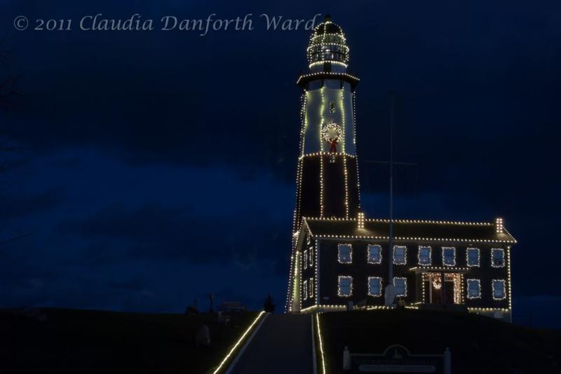 Montauk Lighthouse at Christmas