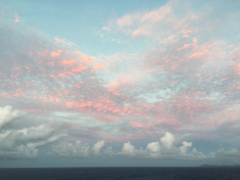 Caribbean Sunset 2015 © Claudia Ward
