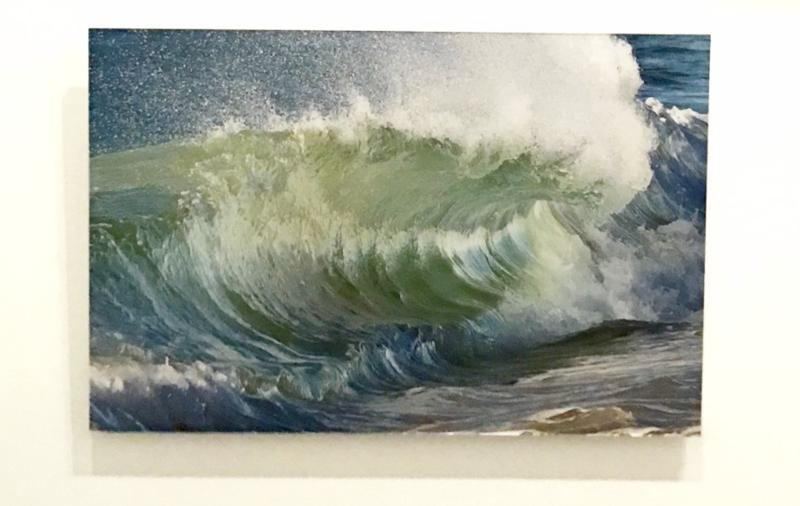 """Shore Break"" © Claudia Ward exhibiting at Guild Hall"