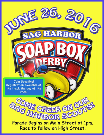 Soap Box Derby Sag Harbor Sunday June 26, 2016