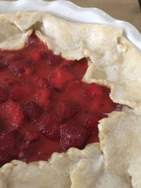 Strawberry Lime Crostata © Claudia Ward