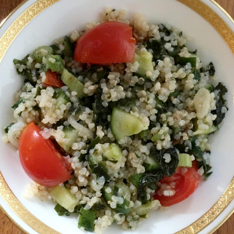 Quinoa Tabbouleh © Claudia Ward