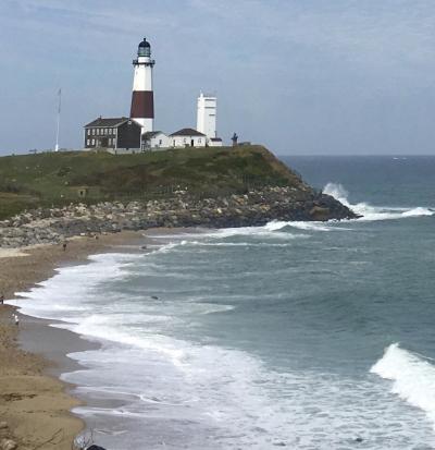 Montauk Lighthouse Secure? © Claudia Ward