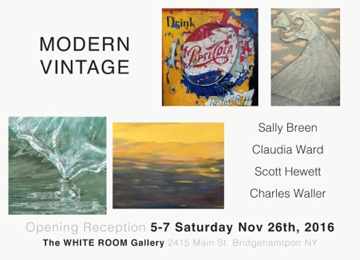 Modern Vintage Exhibit at The White Room Gallery Bridgehampton