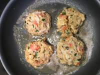 Frying Dungeness Crab Cakes I