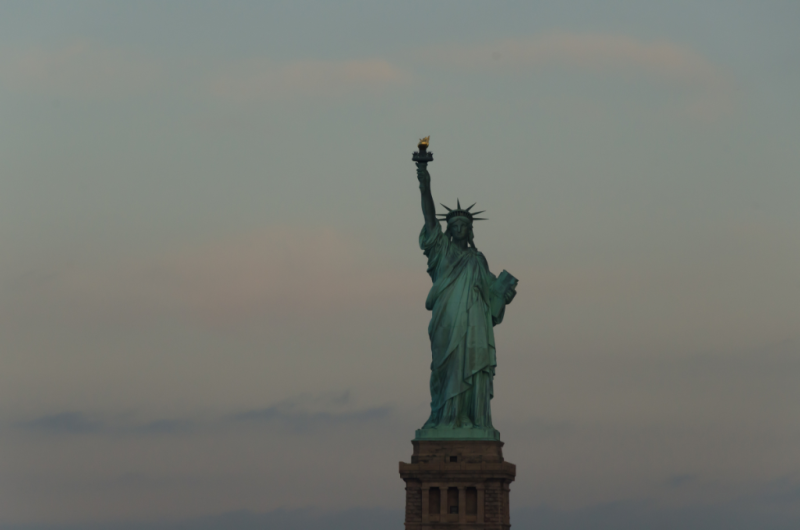 Statue of Liberty at Sunrise © Claudia Ward