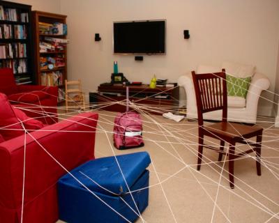 String Game Set Up
