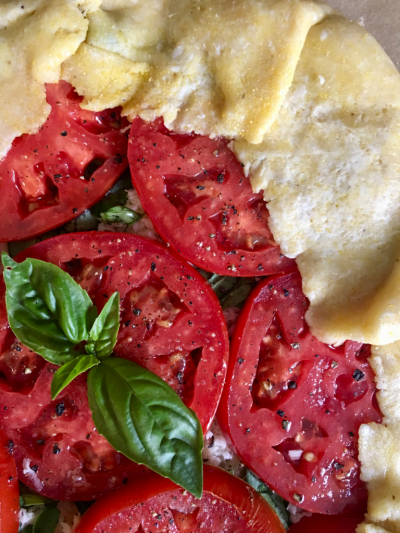 Fresh Tomato Tart © 2018 Claudia Ward